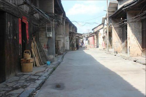 木板房,江南水乡建筑风格在这里被描绘的活